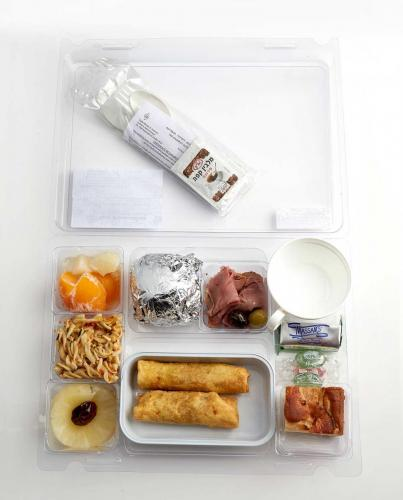 Kosher Airline catering by Lewis' Continental Kitchen